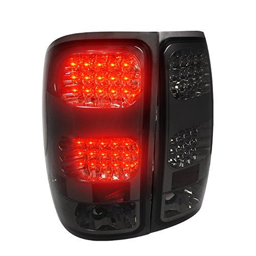 Spec-D Tuning LT-SIE07GLED-TM Gmc Sierra 1500//2500//3500 Smoked Led Tail Lights