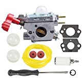 Mckin Carburetor with Screwdriver Tool for ZAMA C1U-P27 MTD 753-06288 MS2550 MS2560 MS9900 TB2040XP Craftsman Troybilt Yard Machine Trimmer Carb