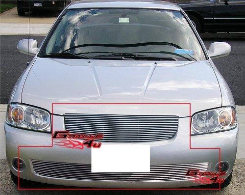 06 Nissan Sentra Billet Grille - 5