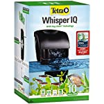 Whisper IQ 10 Power Filter for Aquariums, With Quiet Technology