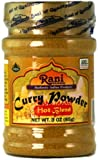Rani Curry Powder Hot Natural 11-Spice Blend 85g (3oz) ~ Salt Free   Vegan   Gluten Free Ingredients   NON-GMO