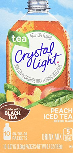 - Crystal Light Peach Drink Mix (10 On the Go Packets)