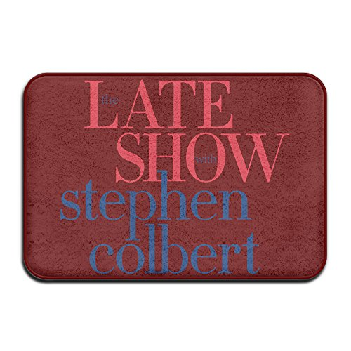 Trendy Mats The Late Show with Stephen Colbert Entry Way Outdoor Non-Skid/Slip Rug 23