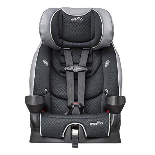 evenflo securekid lx booster car seat raven import it all. Black Bedroom Furniture Sets. Home Design Ideas