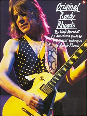 Learn To Play 100% Original Randy Rhoads Guitar Solos Musical Instruments & Gear Instruction Books, Cds & Video