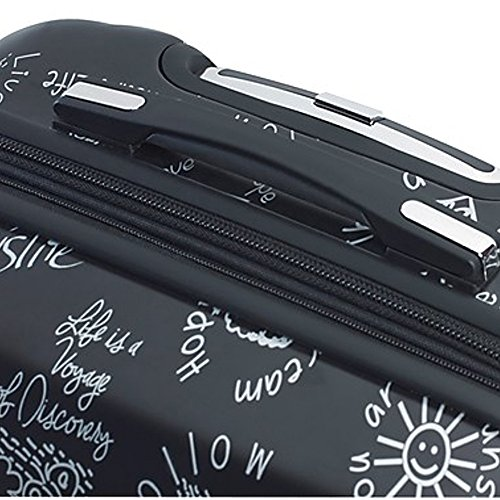 Mia Toro ITALY Love This Life-Medallions Hardside Spinner Luggage 3 Piece Set [20'', 24'' & 28''] by Mia Toro (Image #2)