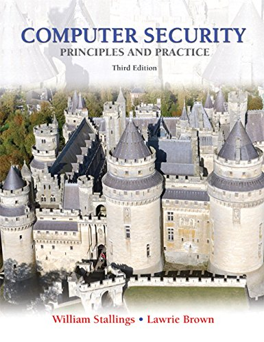 Computer Security: Principles and Practice (3rd Edition) cover