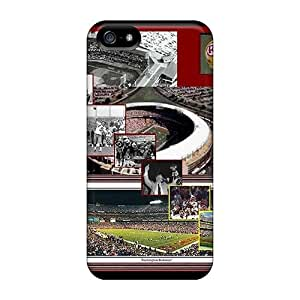 Iphone 5/5s Cases Covers - Slim Fit Tpu Protector Shock Absorbent Cases (washington Redskins)
