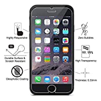 JCHOPE Screen Protector Compatible iPhone 7 Plus,2 Pack 9H Hardness 3D Touch Anti-Scratch Bubble Free Transparent Screen Protector Glass (5.5 inch) by JCHope