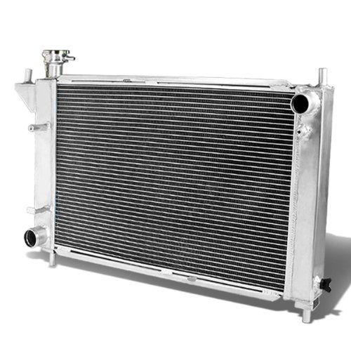 For Ford Mustang Full Aluminum 3-row Racing Radiator - 4 Gen Manual MT only
