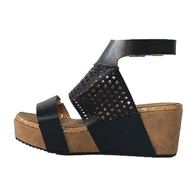 Compensé Chaussures bout Ete Ouvert Kitipeng Femme 5cm sandales WIE9HD2