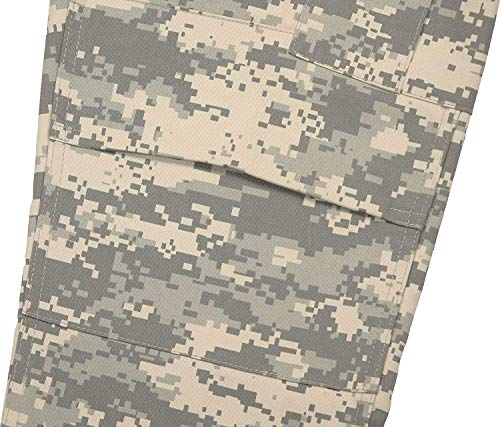 Army Universe Mens ACU Digital Camouflage Military BDU Cargo Pants with Pin  (W 31- 375eb298f1a