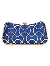 Fawziya Crystal Clutch Evening Bags For Women Clutch With Handle