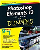 img - for Photoshop Elements 12 All-in-One For Dummies by Barbara Obermeier (2013-10-28) book / textbook / text book
