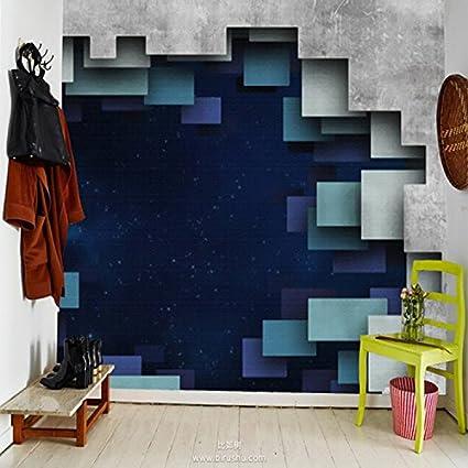 Papel tapiz de plumas de pavo real 3D salš®n dormitorio porche carš ...