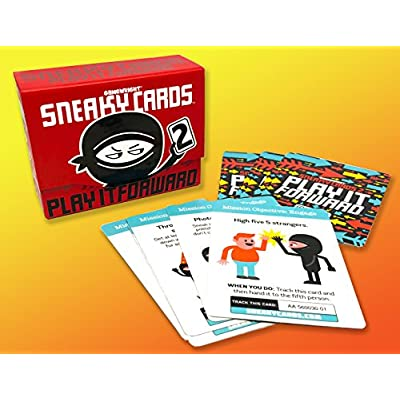 Gamewright  Sneaky Cards 2 - Play It Forward: Toys & Games