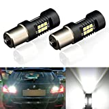 ToAUTO 2 x 1156 LED Bulbs 1200 Lumens 3030 Chips with Projector 7506