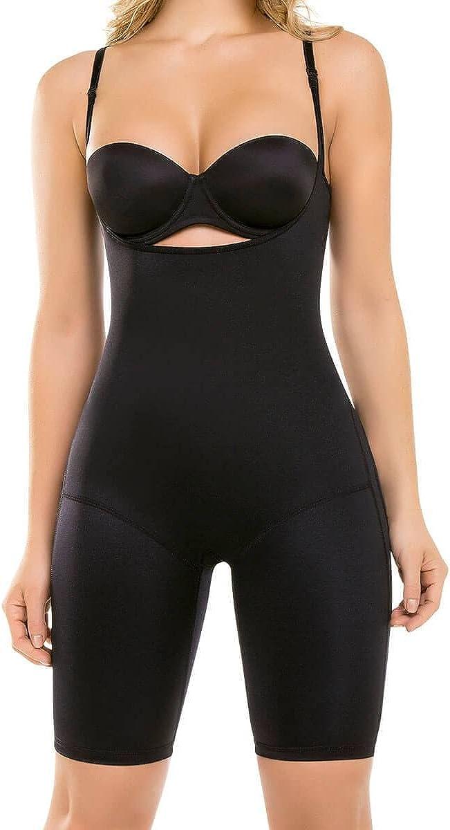 Gios black padded wireless Bodysuit body  shapewear  size Us42c it7C  eu95C