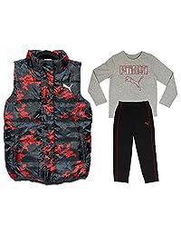 Puma Boy's Vest, Top and Pants 3-Piece Set - Size Age 7