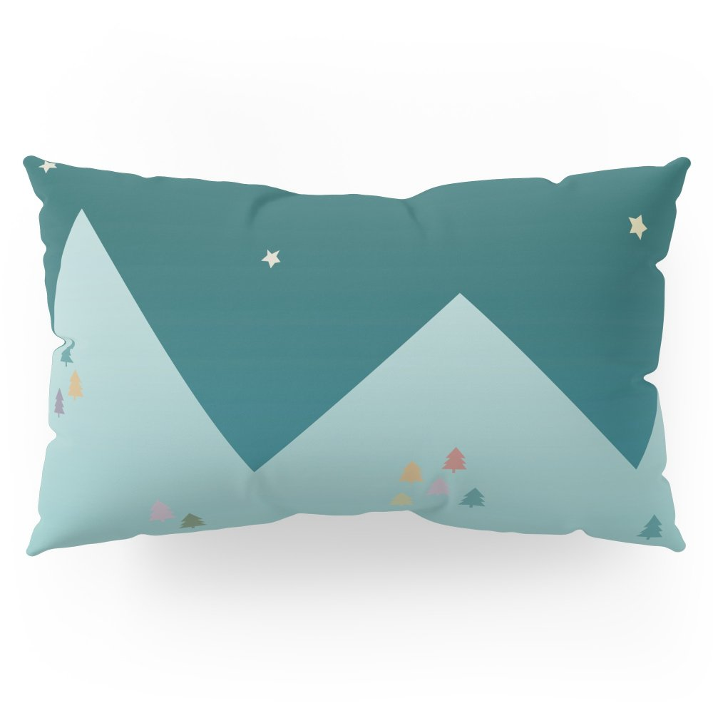 Society6 Winter Night Pillow Sham King (20'' x 36'') Set of 2