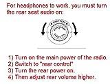 Honda Pilot Odyssey Compatible DVD Headphones