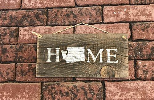 Washington State Home Barn Wood Signs