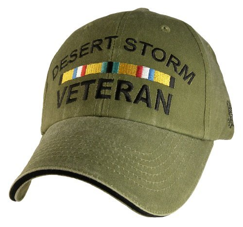 Desert Storm Veteran with Ribbon Cap