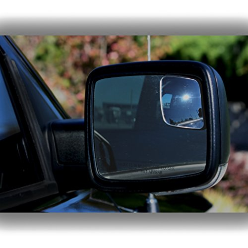 RM10 Blind Spot Mirrors for 2009-2018 Ram Trucks with Non ...