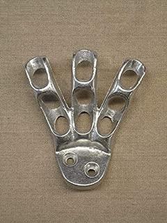 product image for Eder Flag Bracket 3 Finger Silver Aluminum
