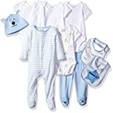 The Children's Place Baby Layette Set, Blue 77962, 3-6 Months