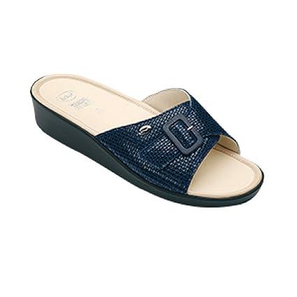 Scholl, da sandali da Scholl, donna Mango numero 40, blu navy, con soletta in   2e8182