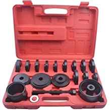23-pcs FWD Front Wheel Drive Bearing Adapters Puller Press Replacement Installer Removal Tool Kit (Type-1)