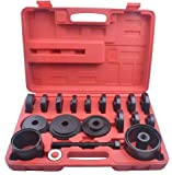 wheel bearing front tool - Oanon 23-Piece FWD Front Wheel Drive Bearing Adapters Puller Press Replacement Installer Removal Tool Kit(23-Piece FWD)