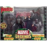 Marvel Legends Monsters Set Werewolf , Dracula, Zombie, Frankenstein