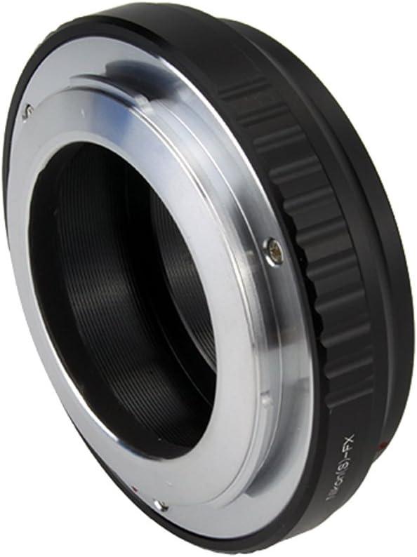 Pixco Lens Adapter Suit for Nikon Microscope S//Contax RF Lens to Fujifilm X Camera Fujifilm X-A5 X-A20 X-A10 X-A3 X-A2 X-A1 X-T2 X-E3 X-E2S X-E2 X-E1 X-T100 X-T10 X-T1IR X-T1 X-T Nikon.S -Fuji FX