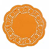 YingYing Home 4.5'' Mixed Colors Lace Paper Doilies/Placemats for Wedding Party Decoration Supplies Scrapbooking Paper Crafts