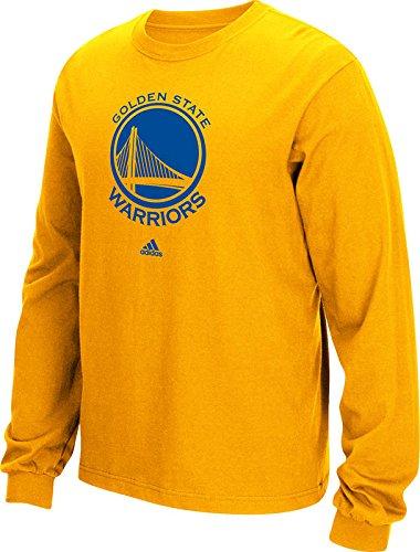 056e79e9d91 NBA Golden State Warriors Men's Full Primary Logo Long Sleeve Tee ...