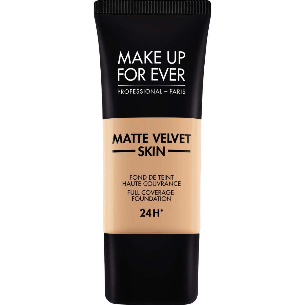 [MAKE UP FOR EVER ] これまでマットベルベットの皮膚のフルカバレッジ基礎30ミリリットルのY325を補う - 肉 - MAKE UP FOR EVER Matte Velvet Skin Full Coverage Foundation 30ml Y325 - Flesh [並行輸入品] B07S762J8L