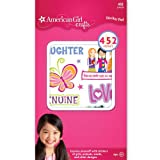 Best American Girl Crafts The American Girl Dolls - American Girl Crafts Girls Sticker Pad Review