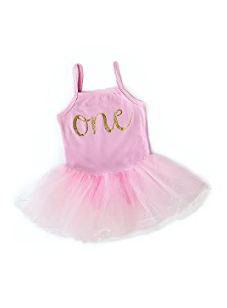 7ba6c3d0cab Amazon.com  Baby Girl First Birthday Outfit