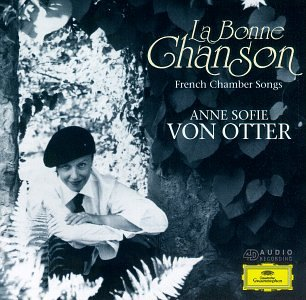 Anne Sofie von Otter - La Selling French Bonne Songs Import Chamber Chanson