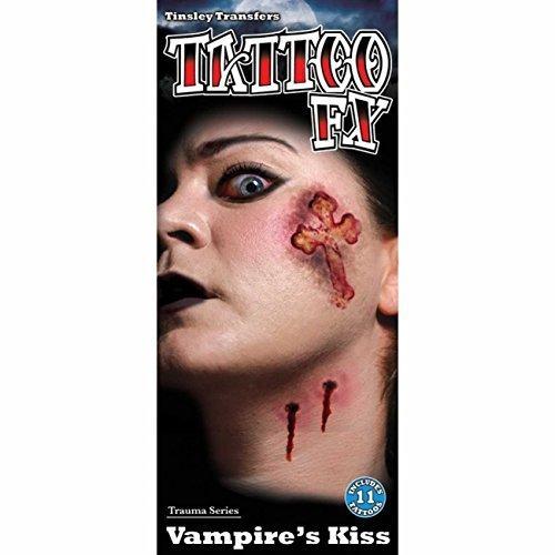 Tinsley Transfers Temporary Tattoo - Vampire Kiss by Tinsley Transfers