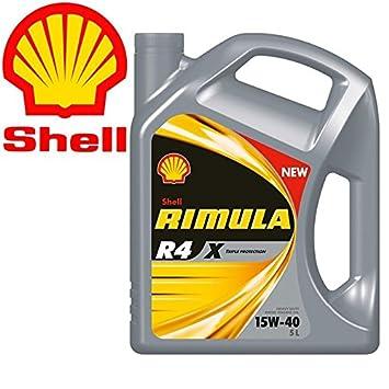Shell rimula R4 X 15 W40 Ci4 E7 DH1 - Aceite motor diesel ...