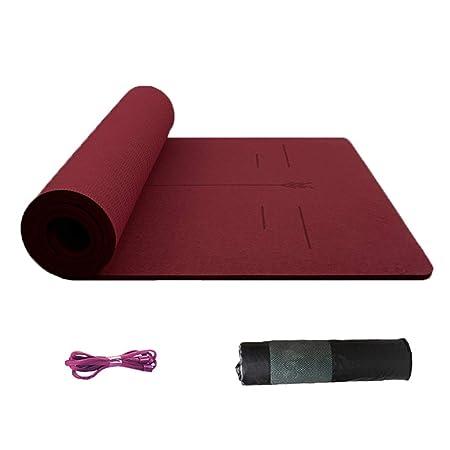 Yoga Mat Protección del Medio Ambiente Alta Densidad Fitness ...