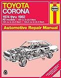 Toyota Corona, 1974-82 (Haynes Repair Manuals)