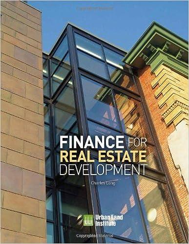 Amazon com: Finance for Real Estate Development