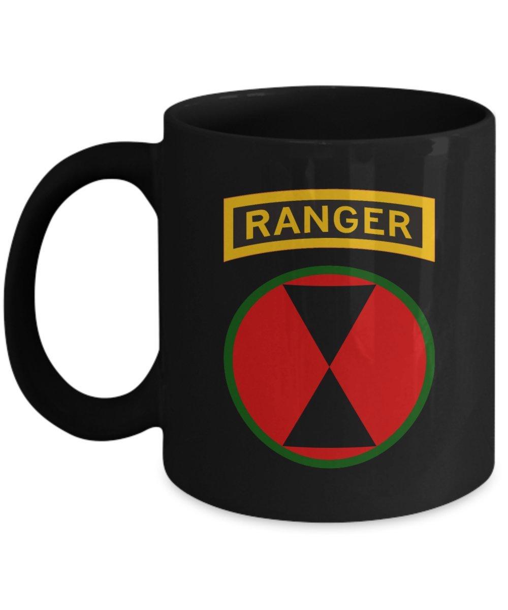 柔らかな質感の 第7師団コーヒーマグ – 7th ID ブラック Rangerタブ 11oz Rangerタブ ブラック 11oz GB-1335239-20-Black 11oz ブラック B074DW3JGQ, ジェラート専門店ドルチェ 本店:1bb489bf --- movellplanejado.com.br