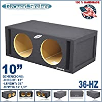 10 DUAL PORTED SPEAKER BOX SUB WOOFER BOX