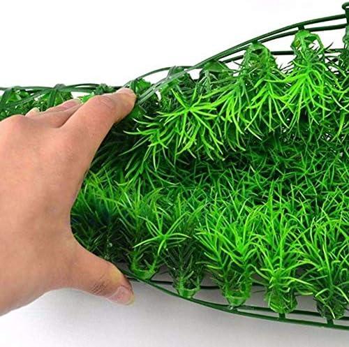 Simule el Paisaje del Tanque de Peces de césped de la Planta de césped de Agua Verde para la decoración del Acuario casero 3