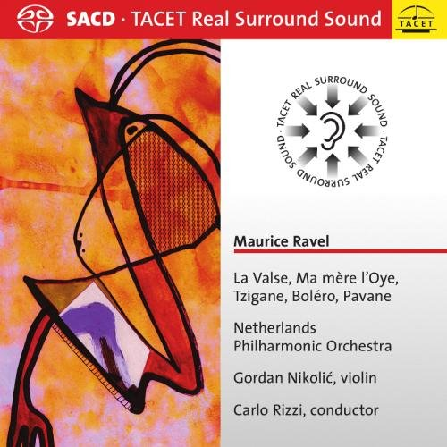 SACD : Gordan Nikolic - La Valse /  Ma Mere L'oye /  Tzigane /  Bolero (Hybrid SACD)